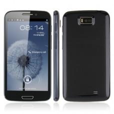 Hero 9300+ Smart Phone 5.3 Inch IPS Screen Android 4.1 MTK6577 3G GPS WiFi Dark Blue