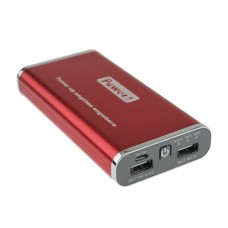 8000mAh 2 USB Port Power Bank for Mobile Phones Tablet PC