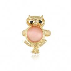 Fashion Owl Style Ring Jewelry Adjustable Size