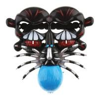 Halloween Terrorist Spider and Skeleton Head Glasses