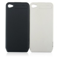 1800mAh Portable Power Bank External Battery Case for iPhone 4 4S