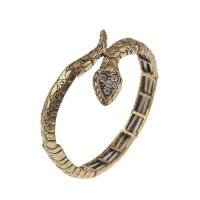 Snake Style Rhinestone Decor Bracelet Jewelry