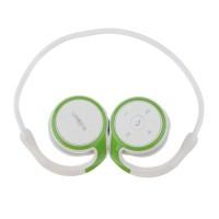 SX-610A Bluetooth v2.1 Stereo Headset- White & Green