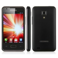 i9270+ Smart Phone Android 2.3 MTK6515 1.0GHz WiFi 3.5 Inch Multi-touch Screen- Black