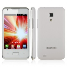 i9270+ Smart Phone Android 2.3 MTK6515 1.0GHz WiFi 3.5 Inch Multi-touch Screen- White