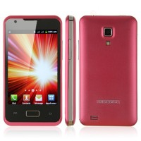 i9270+ Smart Phone Android 2.3 MTK6515 1.0GHz WiFi 3.5 Inch Multi-touch Screen- Red