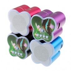 Fashion Z-16 Music Mini Speaker Micro SD/USB/TF Speaker Four Colors Selectable