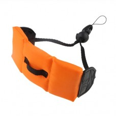 Camera Floating Strap for Waterproof Digital Cameras Orange