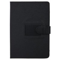 Universal  Black Leather Stand Case  For 10.1