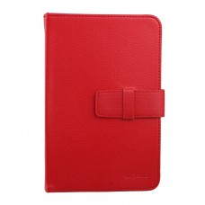 New Universal 7 inch Tablet PC Leather Case Protector Cover Red
