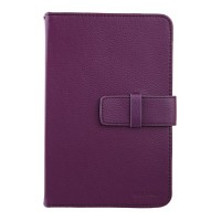 New Universal 7 inch Tablet PC Leather Case Protector Cover Purple