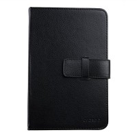New Universal 7 inch Tablet PC Leather Case Protector Cover Black