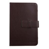 New Universal 7 inch Tablet PC Leather Case Protector Cover Brown