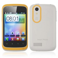 T328w Smart Phone Android 2.3 MTK6515 1.0GHz WiFi 3.2 Inch Capacitive Screen- Yellow