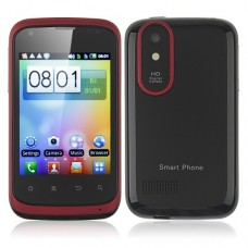T328w Smart Phone Android 2.3 MTK6515 1.0GHz WiFi 3.2 Inch Capacitive Screen- Red