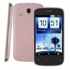 i9300 Lite Smart Phone Android 2.3 OS MTK6513 WiFi 4.0 Inch Multi-touch Screen- Pink