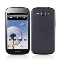 GT-i9300 Smart Phone Android 2.3 MTK6575 3G GPS WiFi 4.7 Inch 8.0MP Camera- Blue