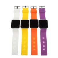 LED Sport Style Touch Screen Watch Silicone Band
