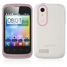 T328w Smart Phone Android 2.3 MTK6515 1.0GHz WiFi 3.2 Inch Capacitive Screen- Pink