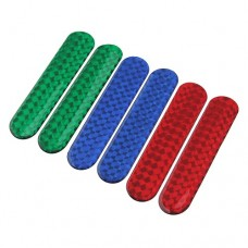 2pcs Motorcycle Car Reflective Tapes Strips Sticker