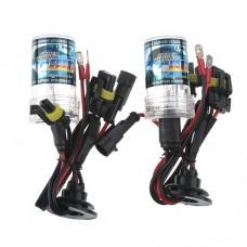 2pcs H7 8000K Xenon HID Headlight Bulbs