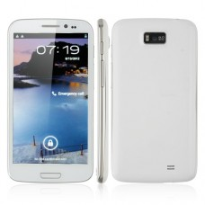 Hero 9300+ Smart Phone 5.3 Inch IPS Screen Android 4.1 MTK6577 3G GPS WiFi White