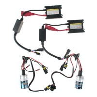 12V 35W H3 8000K Xenon HID Conversion Kit 2 Headlight Bulbs