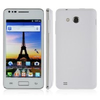 I9070 Smart Phone Android 2.3 OS WiFi FM 4.0 Inch Multi-touch Screen- White