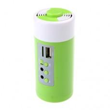 5000mAh Portable Power Bank Speaker TF Card Slot FM Radio U-disk