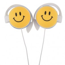 Smile Expression 3.5mm Port Stereo Headphones Earphone