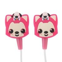 Cute Ali 3.5mm Pink Stereo Headphones Headset AL-01