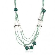 Fashion Multilayer Seed Pearl Necklace Jewelry