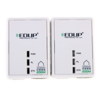 EDUP Mini HomePlug AV 200M Powerline Adapter Bridge