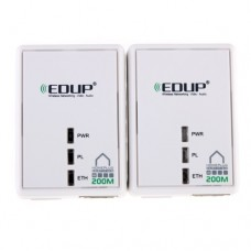 EDUP Mini HomePlug AV 200M Powerline Adapter Bridge