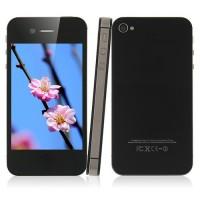 ST108 Smart Phone 3.5 Inch Retina Screen MTK6575 Android 2.3 3G GPS WiFi 16GB- Black