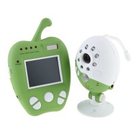 Cute 2.5 Inch LCD Wireless Baby Monitor 2.4GHz Apple Style