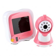 3.5 Inch Wireless LCD Baby Monitor Night Vision Waterproof with Remote Control