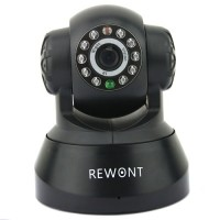 TENVIS REWONT WIRELESS IP CAMERA JPT3813W-B-USA Black