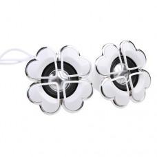 Flower Shape Mini Digital Speaker 3.5mm Audio Port