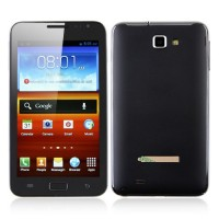 N7000+ Smart Phone Android 4.0 OS 3G TV GPS 5.2 Inch Multi-touch Screen-Black