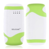 SOLOCAR 5000mAh Power Bank with Flashlight for iPhone/iPad/Mobile Phone/Tablet PC