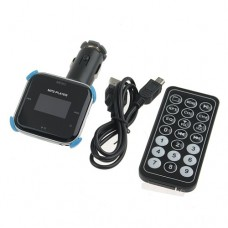 3 In 1 Multi-Function Car FM Transmitter+MP3 Player+ Car Charger Settled Positioning Frame