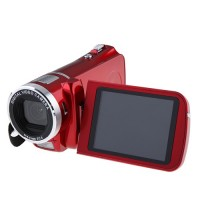 Max 12.0 Mega Pixels 3.0 Inch TFT Screen HD 720P Digital Video Camcorder HD-888-Red