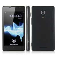 LT29 4.5 Inch Smart Phone Android 4.0 MTK6577 Dual Core 3G GPS 8.0MP Camera- Black