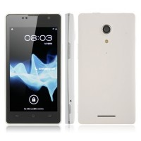 LT29 4.5 Inch Smart Phone Android 4.0 MTK6577 Dual Core 3G GPS 8.0MP Camera- White
