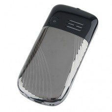 K888 Phone Dual Band Dual SIM Card Running LED FM Bluetooth Camera- Black