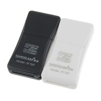 SY-T69 Multifunction Hi-Speed USB 2.0 TF Card Reader 480Mbps  2 Color