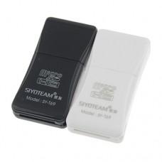 SY-T69 Multifunction Hi-Speed USB 2.0 TF Card Reader 480Mbps  2 Color