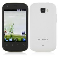 S720C Smart Phone Android 2.3 MTK6515 1.0GHz 3.5 Inch Capacitive Screen- White
