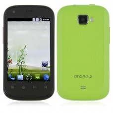 S720C Smart Phone Android 2.3 MTK6515 1.0GHz 3.5 Inch Capacitive Screen- Green